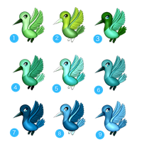 Humming Bird Adopts (1 POINT EACH)(CLOSED) by BellaNoelAdopts