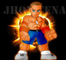 jhon cena cartton by wildchaman