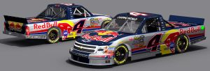 Kasey Kahne Red Bull Fictional by Driggers
