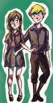 Rudy and Liesel by pebbled