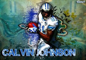 Calvin Johnson by R0mainT