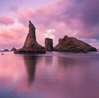 Sea Stacks by La-Vita-a-Bella