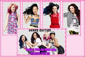 Photopack PNG Little Mix by karoglez