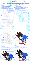 This Is Our Elegy Drawing Process and Tutorial by KonKonna