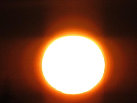 665. The sun (as seen through my bedroom window) by fr33d0m0f3xpr3ss10n