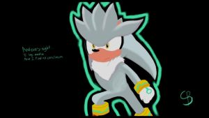 Silver The Awesome Hedgehog by PilloTheStarplestian