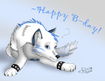 Happy Bday to Ozgirl2307 by Moonflight-RiverClan