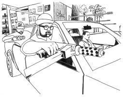 GTA San Andreas coloring page1 by plaidsandstripes