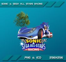 Sonic and Sega All Stars Racing Dock Icon by Dohc-WP