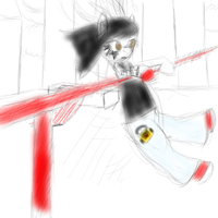 Faith, Mirror's Edge, ponified. Very WIP. by gggfrt