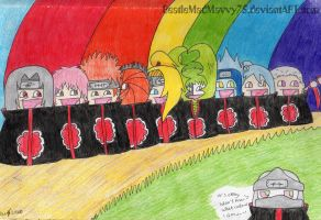 Akatsuki's happy rainbow line by BeatleMadMavvy75