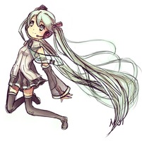 Hatsune Miku by TheSleepingmol