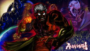 Asura's Wrath Art Contest by rockmanzallz