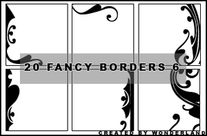 Fancy Icon Borders 6 by Foxxie-Chan