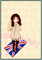 Support Molly! ESC 2014 by arivetti
