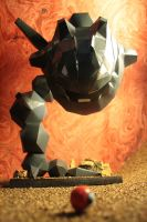 Steelix papercraft by Yuki-Myst