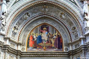 Florence 4 Detail from the Cathedral by Okavanga