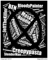 My tagxedo creepypasta! :D by CheetahOnYou