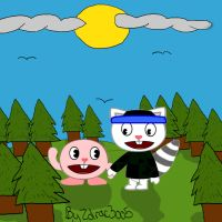 Lemy_and_Kirby_By_Zolrac3oo5 by Killer-Storm