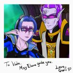 Vade And Gwii by Gwiibear
