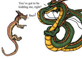 He's no shenron by Ravenfire5