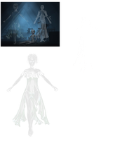 Two Ghost Women png by mysticmorning