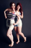 A droid to share happiness with by Stephanie-van-Rijn