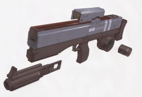 Mass Driver Carbine mkII by IgnusDei