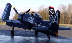 Grumman F8F-2 Bearcat by shelbs2