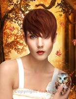 Autumn Girl by Isoptera