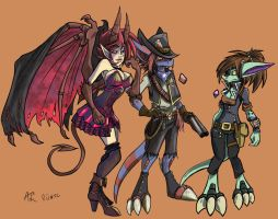 The Posse by RunicKnight