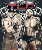 Cena vs. Orton TLC by Andrea6661