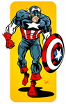 Captain America: Marvel Universe Handbook Reduxe by FlapJoy