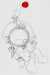 Olimar and Pikmin Doodle by PuccaFanGirl