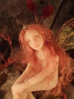 OOAK fairy - Zitrina by TatharielCreations