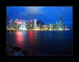 Cityscape hong kong by satnitefever