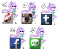 Some social media stuff! by Chesle