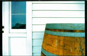 Door and Barrel by dowekeller