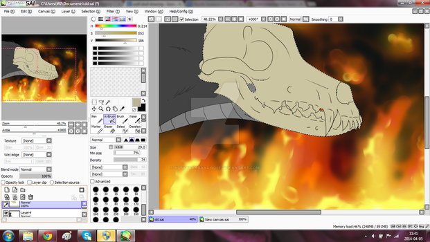 Welcome to hell W.I.P by HuskyGangAndWolf