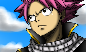 Fairy Tail~Chapter 351~Natsu Colored by 0Eka0