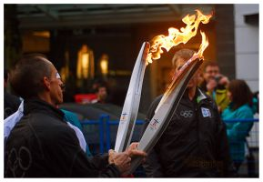 Olympic Torch Relay 3 by EagleEyeZ
