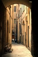 Street in Florence by hippiebliss89