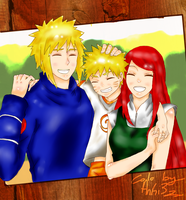 Happy Family .:. Colo by Red-AnGi3