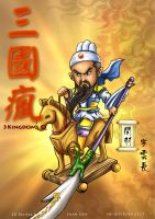 3 kingdoms - Guan Yu by godfathersky