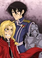 FMA: Metal, Flame, Soul... by Kittyotic
