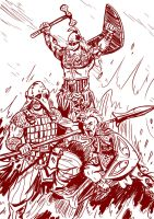 Swithiod Warriors by SteveLeCouilliard