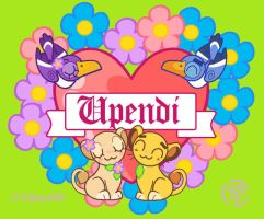 Upendi means love by LAUBoZ
