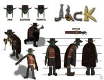 Reference Sheet (Jack) by TheProphet191