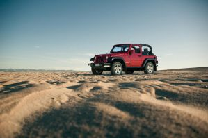 Desert Jeep Wrangler Rubicon by MUCK-ONE