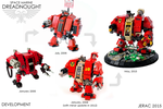 LEGO Dreadnought progression by Scharnvirk
